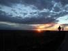 A Somló-hegy kora éjszaka