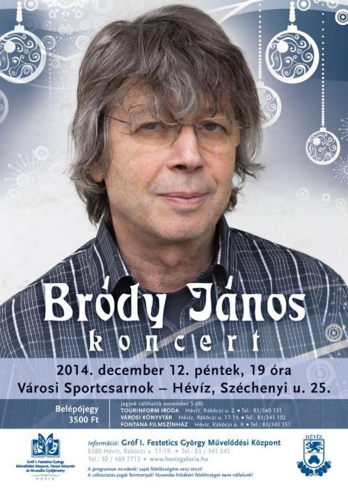 Bródy János Hévízen