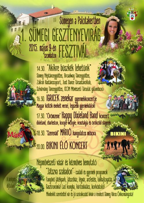 Gesztenyevirág Fesztivál program